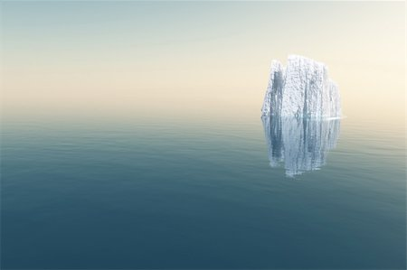 High Resolution Iceberg in open sea Stock Photo - Budget Royalty-Free & Subscription, Code: 400-04808391