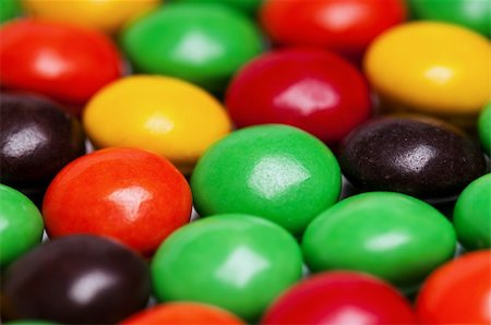 Background of colorful candies coated chocolate sweets Stock Photo - Budget Royalty-Free & Subscription, Code: 400-04809519
