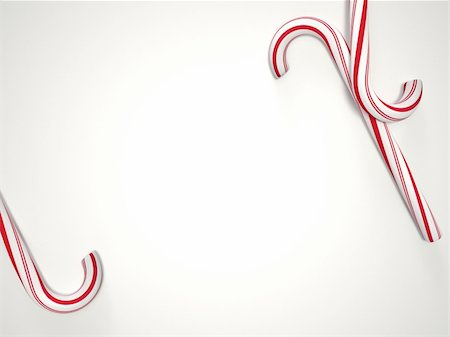 red stick candy - Candy cane wallpaper with copyspace Stock Photo - Budget Royalty-Free & Subscription, Code: 400-04801912
