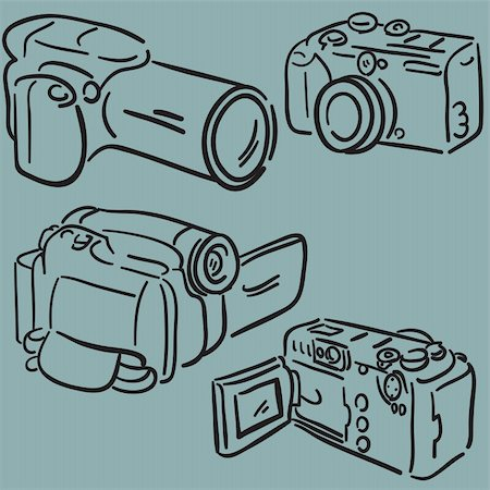 Cameras Stock Photo - Budget Royalty-Free & Subscription, Code: 400-04814792