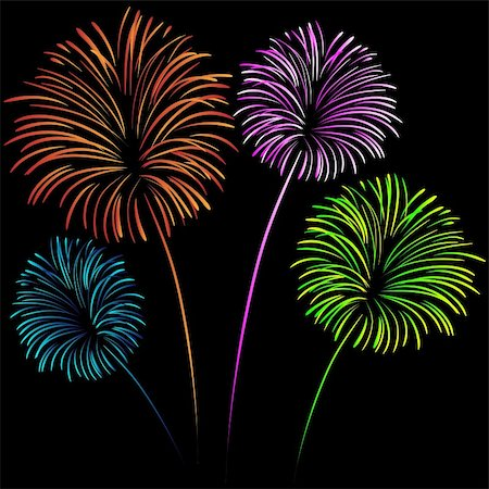 Fireworks Stock Photo - Budget Royalty-Free & Subscription, Code: 400-04814959