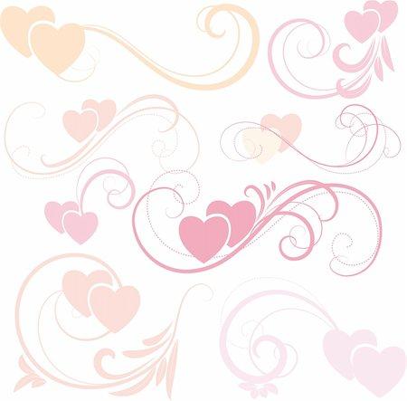 Vector Hearts Stock Photo - Budget Royalty-Free & Subscription, Code: 400-04815426