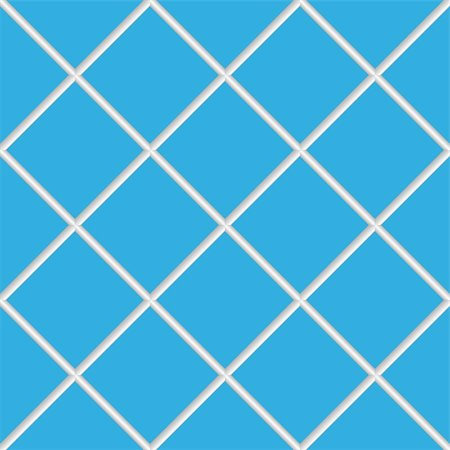 simsearch:400-05245734,k - blue seamless ceramic tiles, abstract diagonal texture; vector art illustration Stock Photo - Budget Royalty-Free & Subscription, Code: 400-04823541