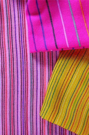 Mexican serape vibrant colorful macro fabric texture background Stock Photo - Budget Royalty-Free & Subscription, Code: 400-04837559