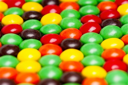 Background of colorful candies coated chocolate sweets Stock Photo - Budget Royalty-Free & Subscription, Code: 400-04832370