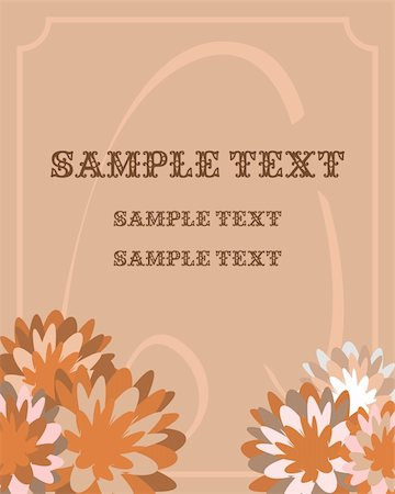 simsearch:400-04872199,k - Illustration of luxurious invitation card - vector Stock Photo - Budget Royalty-Free & Subscription, Code: 400-04849661
