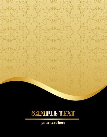 Vintage template. Vector Stock Photo - Budget Royalty-Free & Subscription, Code: 400-04849739