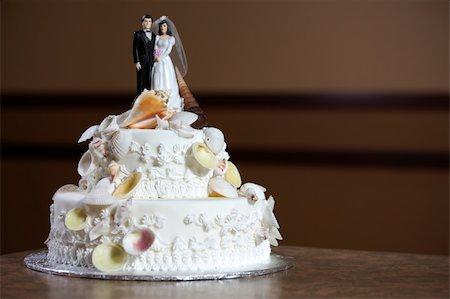 decoration wedding rose vintage - Wedding Cake - Luxury , Expensive Design Stock Photo - Budget Royalty-Free & Subscription, Code: 400-04843993