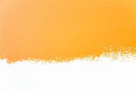 spot paint - painted wall's background / orange / real texture /  isolated on white whith copy space Stock Photo - Budget Royalty-Free & Subscription, Code: 400-04854468
