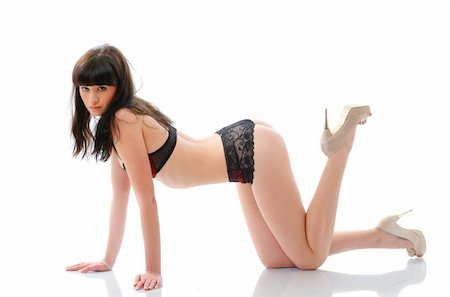 An image of a beautiful sexy girl Stock Photo - Budget Royalty-Free & Subscription, Code: 400-04851624