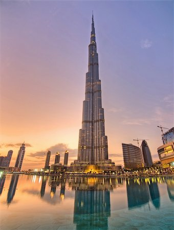 Tallest building in the world located at Dubai Stock Photo - Budget Royalty-Free & Subscription, Code: 400-04852380