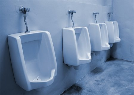 urinals at office Stock Photo - Budget Royalty-Free & Subscription, Code: 400-04867997