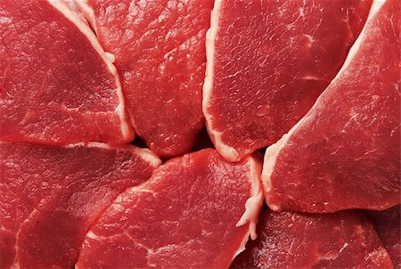 Piece of fresh raw meat background Stock Photo - Budget Royalty-Free & Subscription, Code: 400-04869819