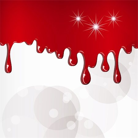 dripping blood illustration - Red drops background. Stock Photo - Budget Royalty-Free & Subscription, Code: 400-04861176
