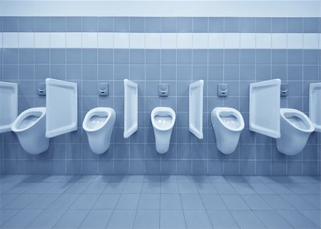Clean public men toilet room, wc Stock Photo - Budget Royalty-Free & Subscription, Code: 400-04862183
