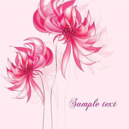 flores - Greeting card in grunge or retro style. Design congratulation christmas vector Stock Photo - Budget Royalty-Free & Subscription, Code: 400-04862322