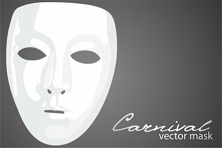 Carnival mask on dark background Stock Photo - Budget Royalty-Free & Subscription, Code: 400-04875041