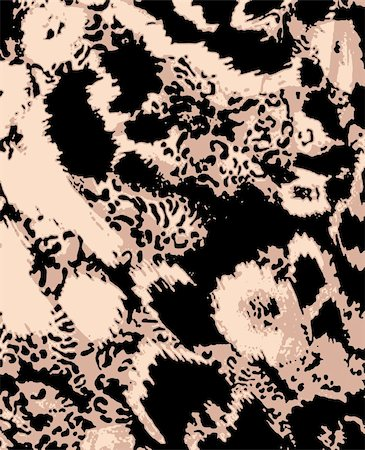 animal skin pattern Stock Photo - Budget Royalty-Free & Subscription, Code: 400-04873993
