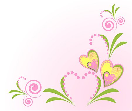 Valentine background with sweets composing a frame for your text Stock Photo - Budget Royalty-Free & Subscription, Code: 400-04887130