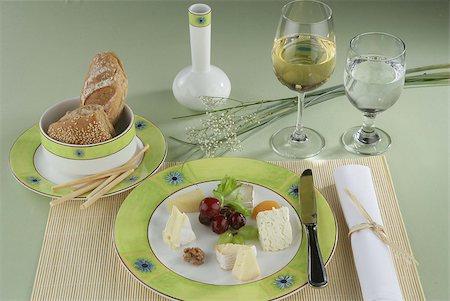 Fresh Italian hearty breakfast ready on table. Stock Photo - Budget Royalty-Free & Subscription, Code: 400-04880021