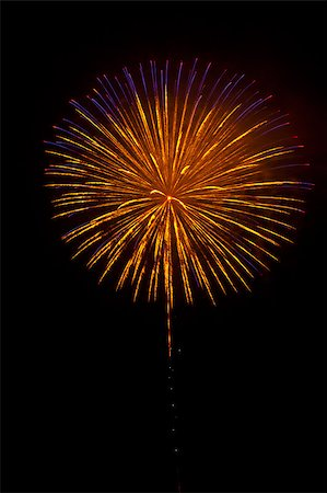 simsearch:400-04863783,k - Beautiful fireworks exploding over a dark night sky in a grand finale display. Very high resolution. Stock Photo - Budget Royalty-Free & Subscription, Code: 400-04896192