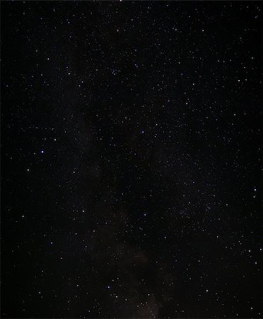 Time lapse of night sky with stars and Milky way Stock Photo - Budget Royalty-Free & Subscription, Code: 400-04891964