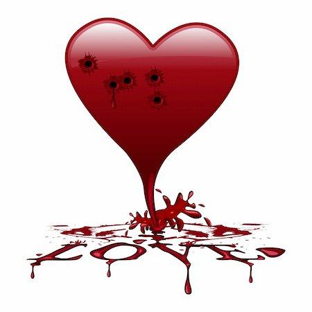 bleeding heart Stock Photo - Budget Royalty-Free & Subscription, Code: 400-04907232