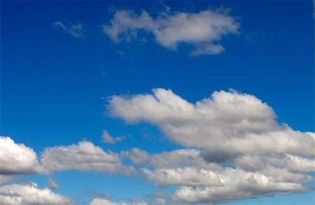 Beautiful clouds seen from the blue sky Stock Photo - Budget Royalty-Free & Subscription, Code: 400-04917605