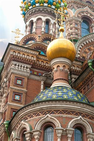 Cathedral of the Saviour on Spilled Blood in St. Petersburg, Russia Stock Photo - Budget Royalty-Free & Subscription, Code: 400-04912627