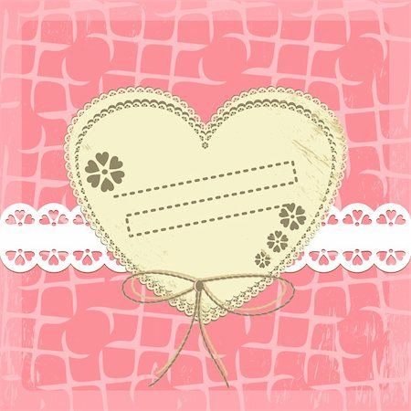 simsearch:400-04872199,k - Vintage Frame Design For Greeting Card on lace grange background Stock Photo - Budget Royalty-Free & Subscription, Code: 400-04912750