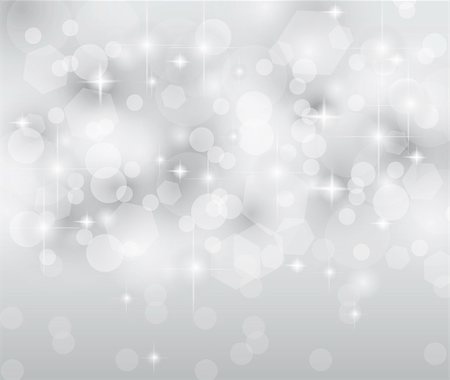 Merry Christmas Elegant Suggestive Background for Greetings Card or Advertising Banner. Delicate lights, glitters adn stars. Stock Photo - Budget Royalty-Free & Subscription, Code: 400-04913315