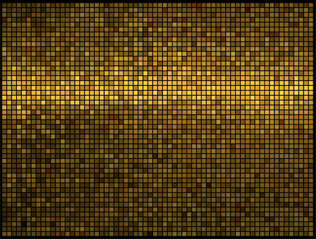 fun happy colorful background images - Multicolor abstract lights gold disco background. Square pixel mosaic vector Stock Photo - Budget Royalty-Free & Subscription, Code: 400-04922912