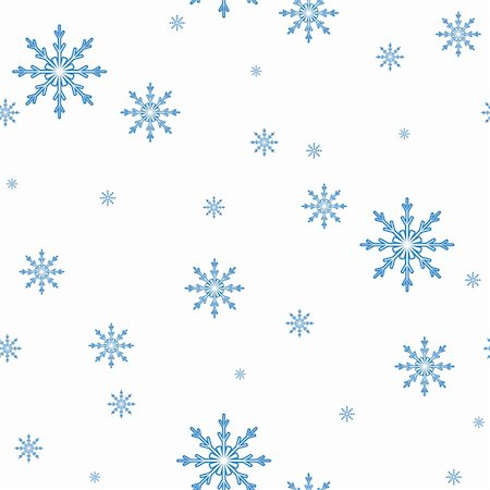 pzromashka (artist) - seamless vector pattern of the Snowflakes. celebratory background Stock Photo - Budget Royalty-Free & Subscription, Code: 400-04923925