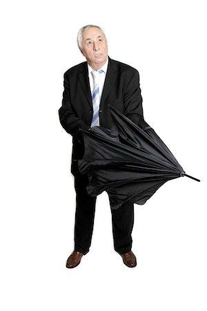 man opening umbrella Stock Photo - Budget Royalty-Free & Subscription, Code: 400-04961981