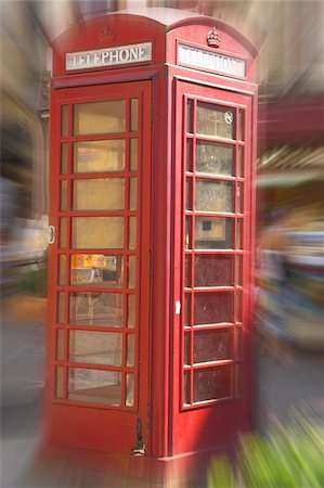 English telephone box Stock Photo - Budget Royalty-Free & Subscription, Code: 400-04976841