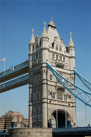 This is an image of the tower bridge Stock Photo - Budget Royalty-Free & Subscription, Code: 400-04979081