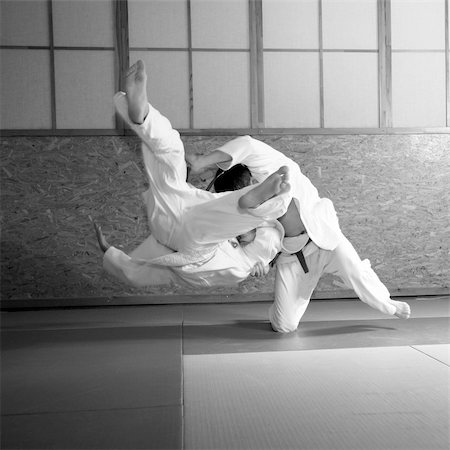 judo fight Stock Photo - Budget Royalty-Free & Subscription, Code: 400-04984245