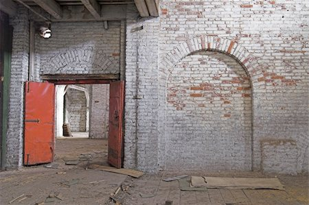 Abandoned Storehouse Building Stock Photo - Budget Royalty-Free & Subscription, Code: 400-04985162