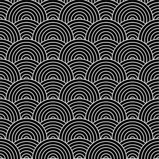 Seamless repeat background design in black and white Stock Photo - Royalty-Free, Artist: Nicemonkey, Image code: 400-04986164
