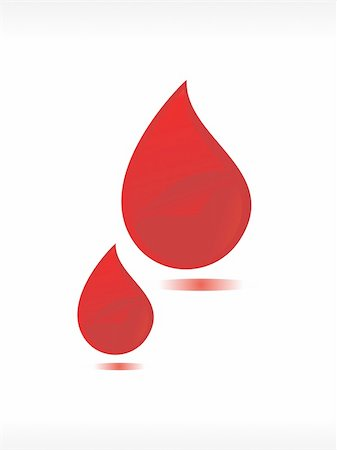 dripping blood illustration - vector blood drop illustration Stock Photo - Budget Royalty-Free & Subscription, Code: 400-04988179