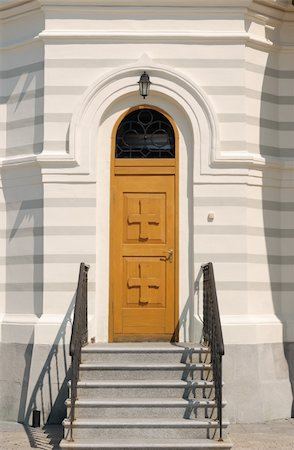 Door in Christian church. The Crimean peninsula Stock Photo - Budget Royalty-Free & Subscription, Code: 400-04994503