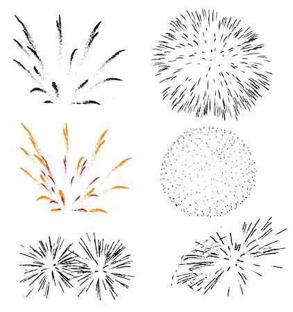 fireworks Stock Photo - Budget Royalty-Free & Subscription, Code: 400-05005703