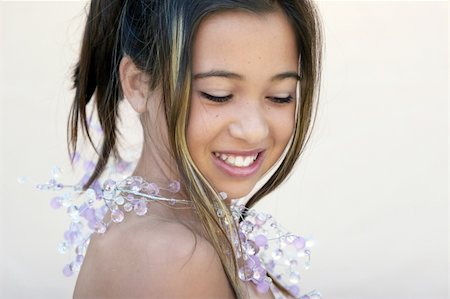 Asian glamorous girl Stock Photo - Budget Royalty-Free & Subscription, Code: 400-05015181