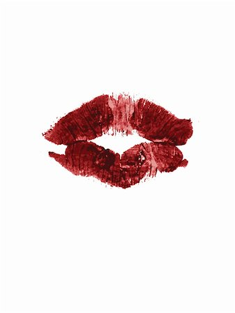 simsearch:400-04597082,k - Lipstick print VECTOR Stock Photo - Budget Royalty-Free & Subscription, Code: 400-05016280
