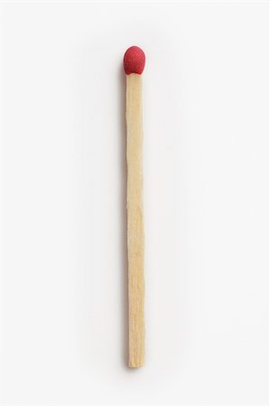 Matchstick isolated on white background Stock Photo - Budget Royalty-Free & Subscription, Code: 400-05016980