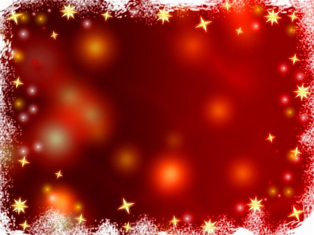 red colour background with white fireworks - golden 3d stars over red background with lights and gleams Stock Photo - Budget Royalty-Free & Subscription, Code: 400-05019954