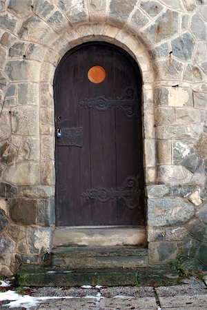 Old castle door Stock Photo - Budget Royalty-Free & Subscription, Code: 400-05024925