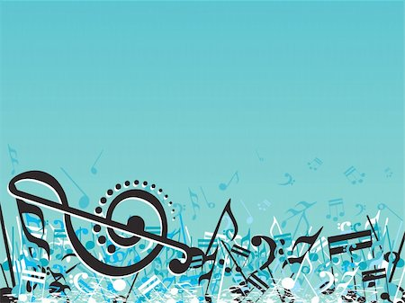 simsearch:400-04676325,k - vector illustration of beautifull musical notes background enjoy the party Stock Photo - Budget Royalty-Free & Subscription, Code: 400-05027559