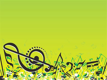 simsearch:400-04676325,k - vector illustration of beautifull musical notes background enjoy the party Stock Photo - Budget Royalty-Free & Subscription, Code: 400-05027570