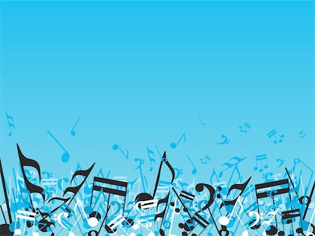simsearch:400-04676325,k - vector illustration of beautifull musical notes background enjoy the party Stock Photo - Budget Royalty-Free & Subscription, Code: 400-05027581